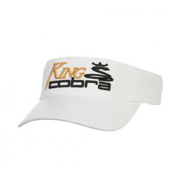 KING COBRA Visor - White