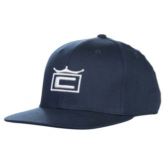 Youth Crown Snapback Cap - Peacoat