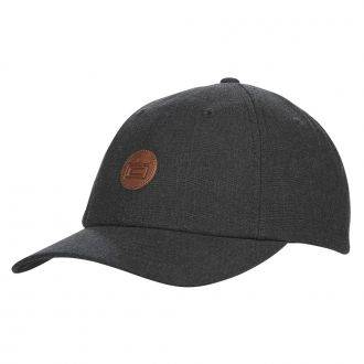 Crown Slouch Adjustable Cap - Black